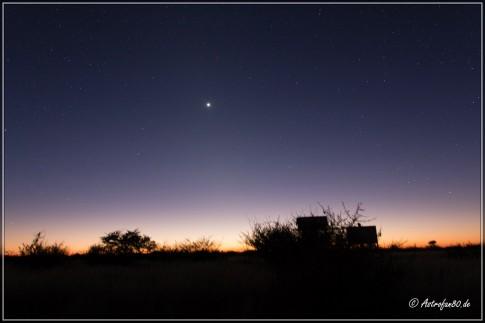 Venus in der Morgendämmerung