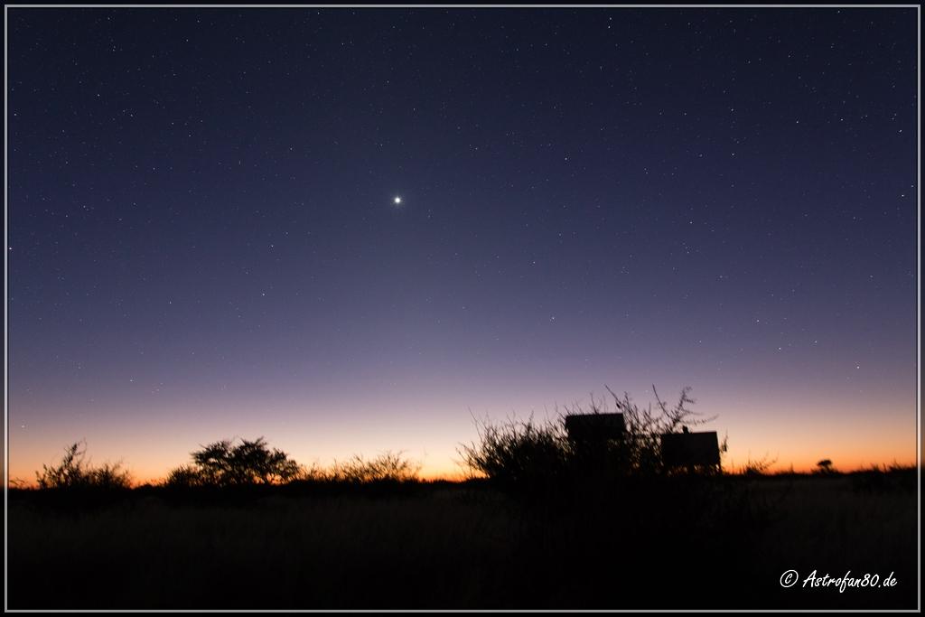 Venus in der Morgendämerung