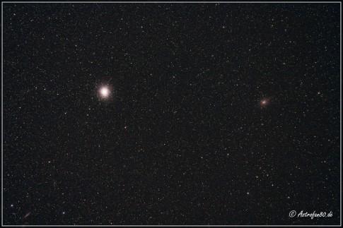 Omega Centauri & Centarus A