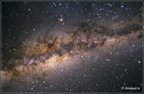 Zentralbereich der Milchstraße