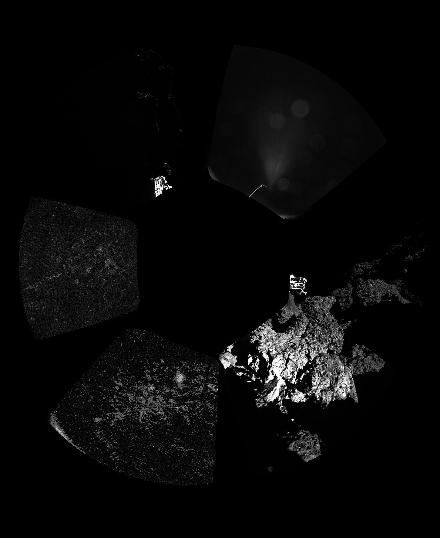 Philae: Im Straßengraben auf 67P/Tschurjumow-Gerasimenko
