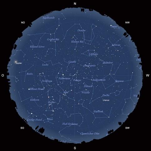 Der Sternhimmel im Dezember 2014