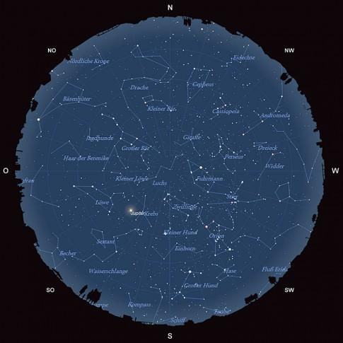 Der Sternhimmel im Februar 2015
