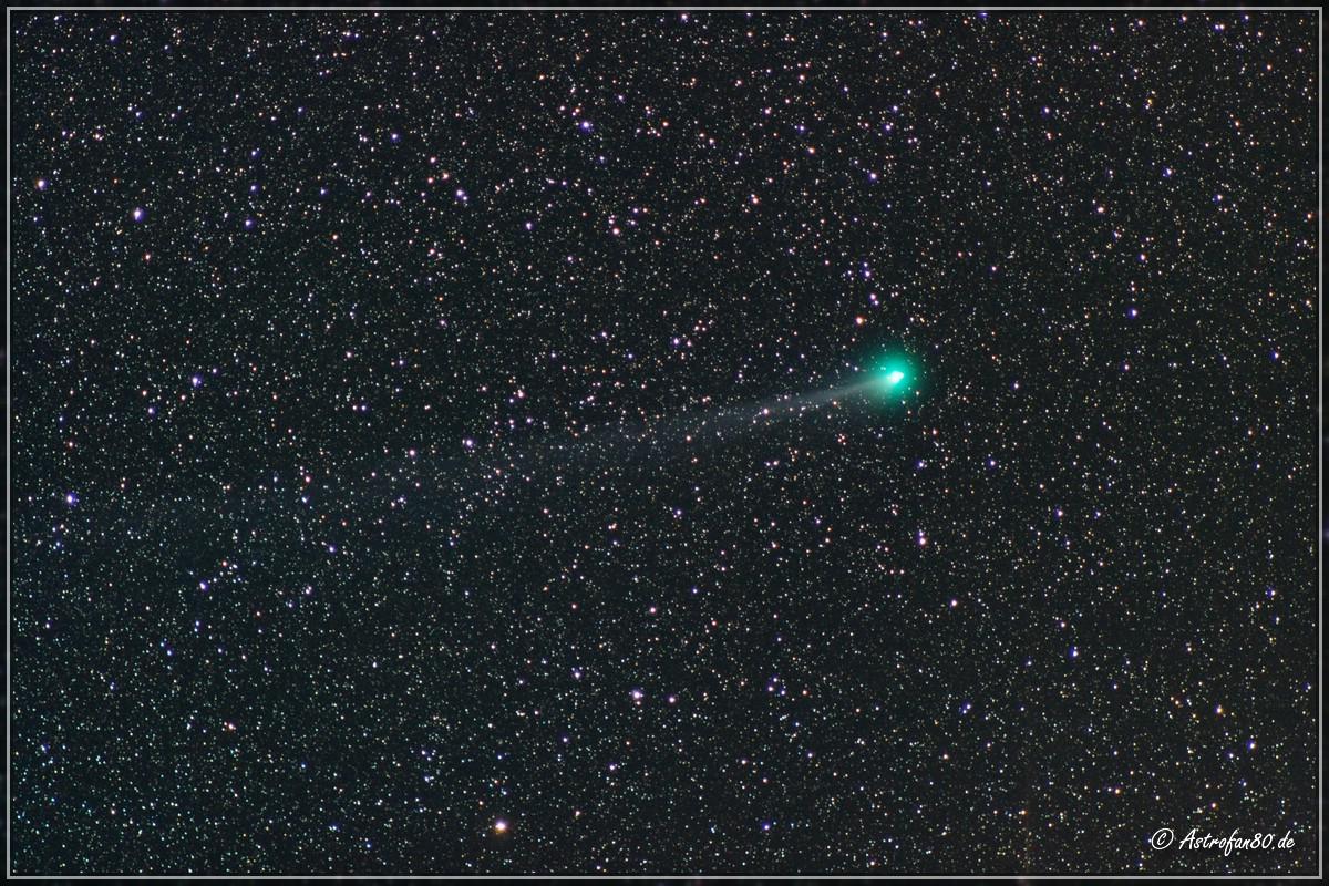 Komet Lovejoy am Abend des 8. Februar 2015