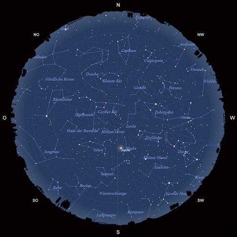 Der Sternhimmel im März 2015