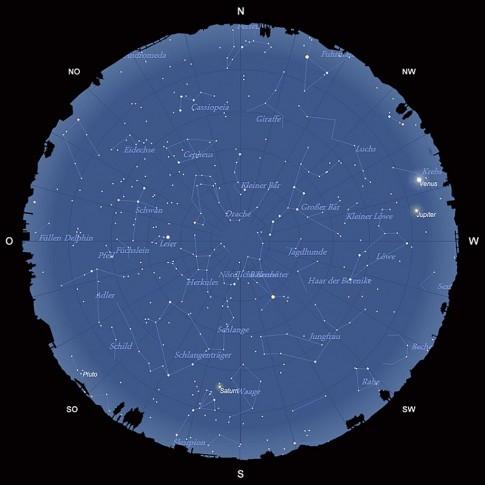 Der Sternhimmel im Juni 2015