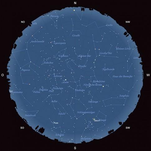 Der Sternhimmel im Juli 2015