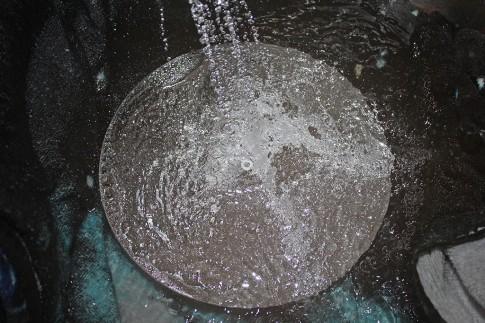 Dusche des Hauptspiegels