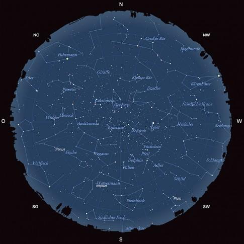 Der Sternhimmel im September 2015
