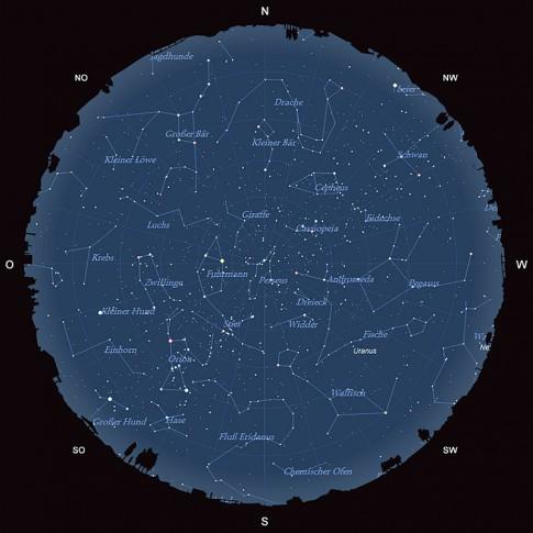 Der Sternhimmel im Dezember 2015