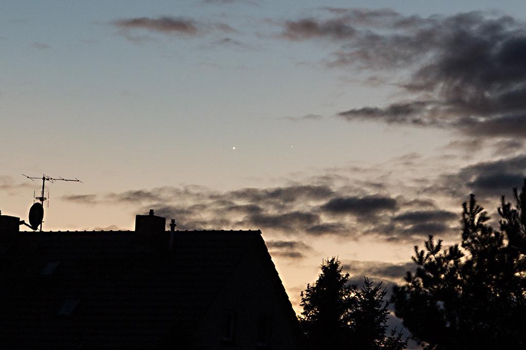 Merkur und Venus