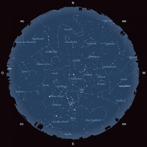 Der Sternhimmel im Januar 2016