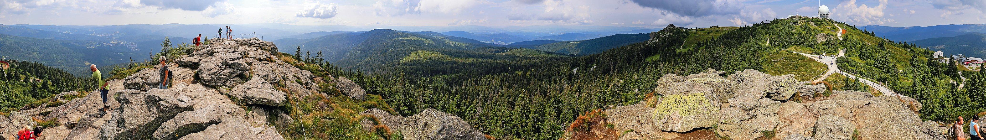 Großer Arber Panorama
