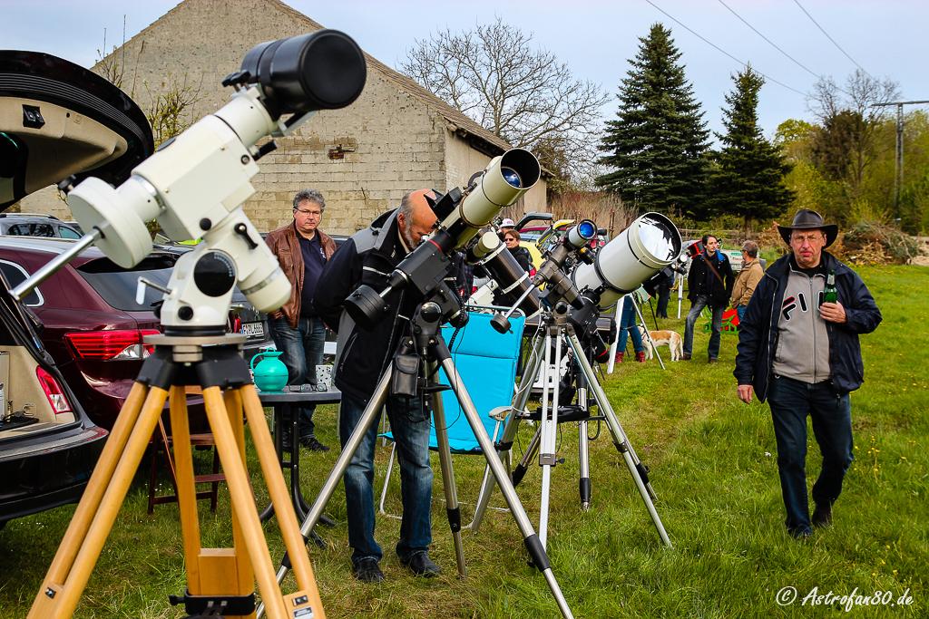 Beobachter & Teleskope