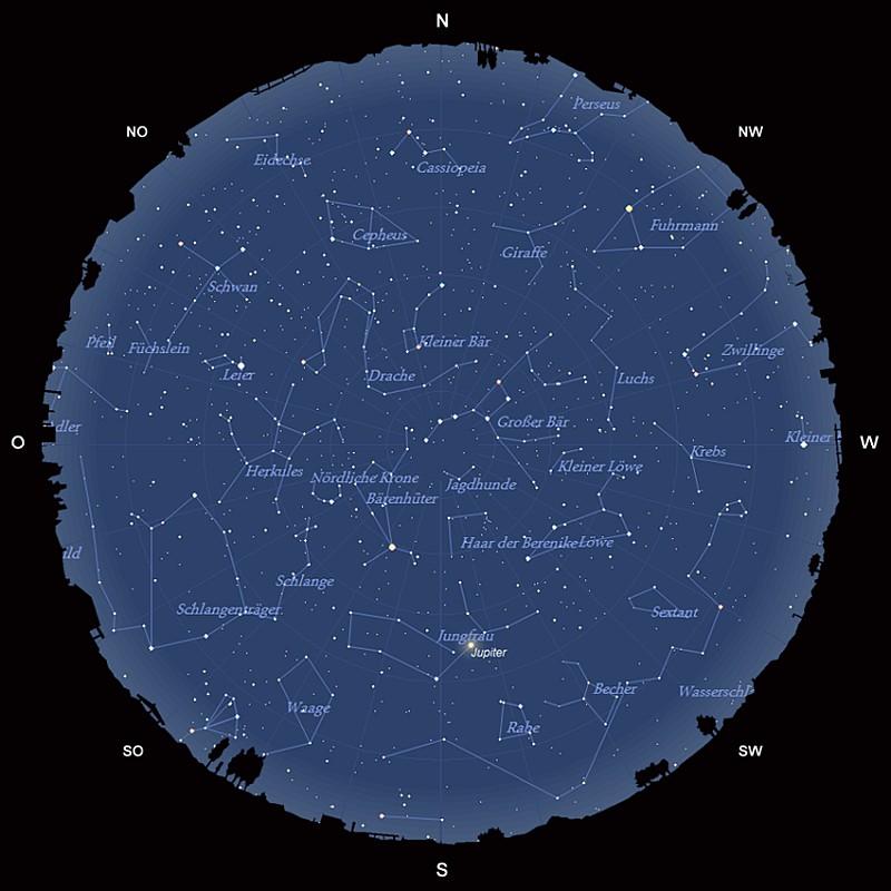 Der Sternhimmel im Mai 2017