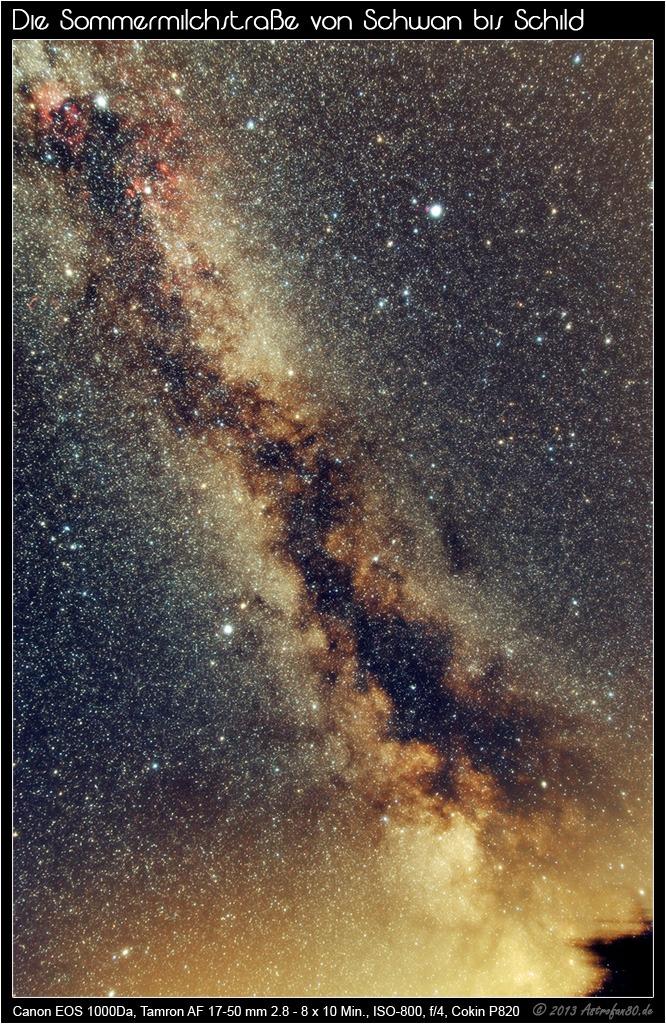 Milchstraße, Cirrus und andere Katastrophen