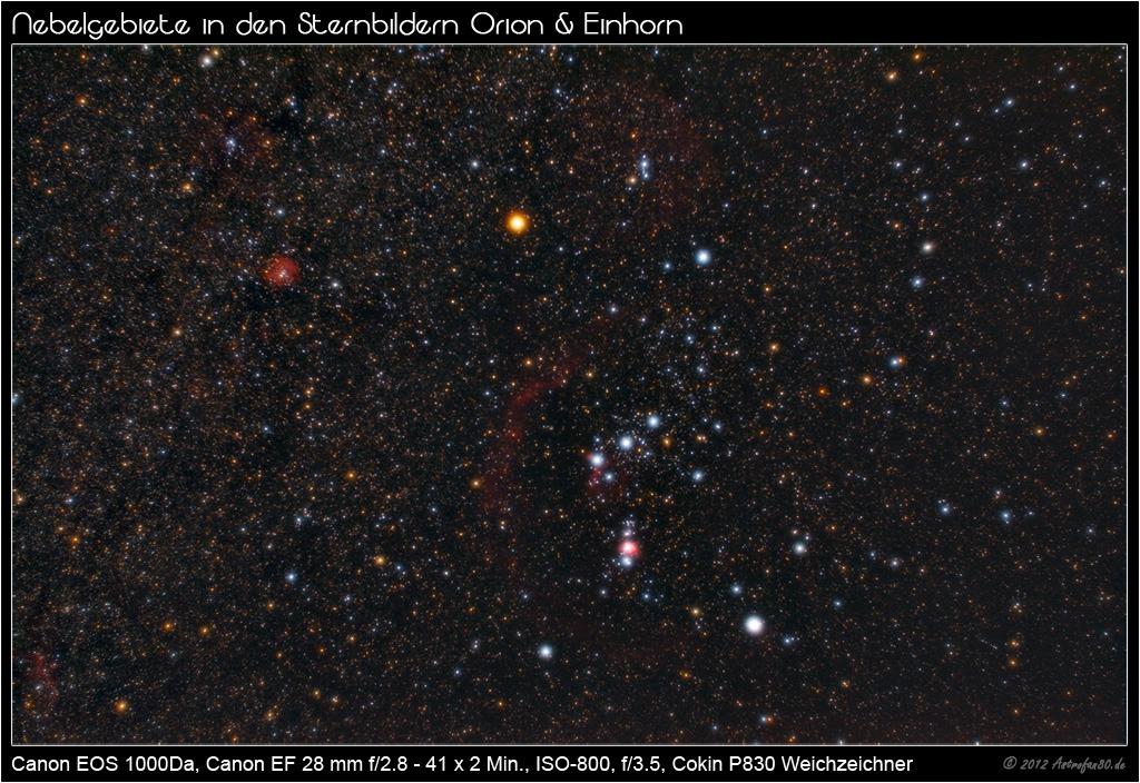 Orion mit Weichzeichner