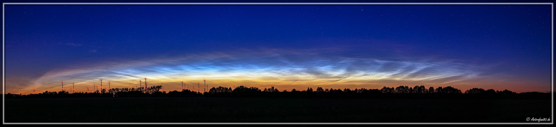 Leuchtende Nachtwolken #2