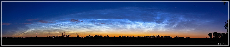 Leuchtende Nachtwolken #3