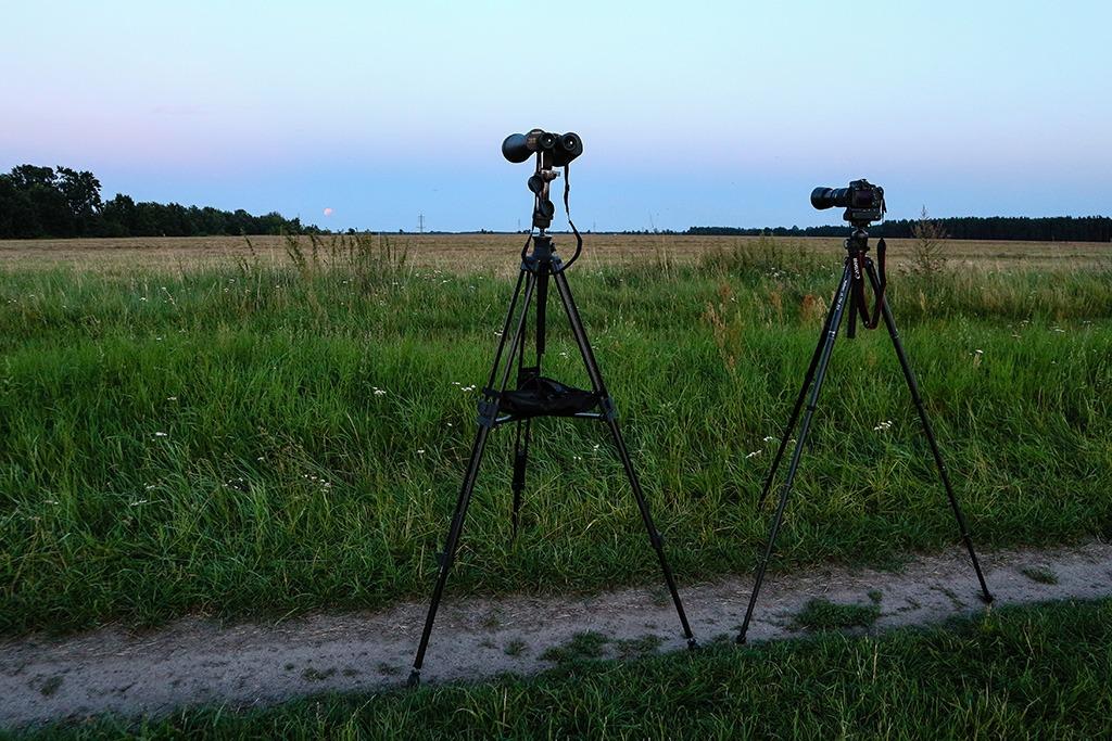 Die Ausrüstung zur Dokumentation der Mofi