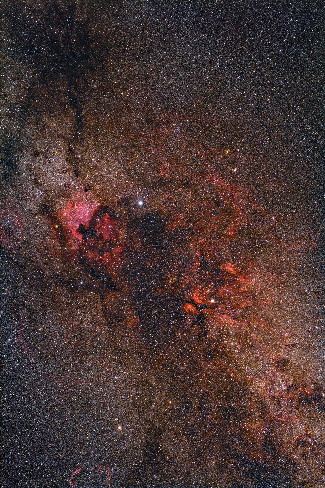 Sommermilchstraße bei Deneb und Gamma Cyg