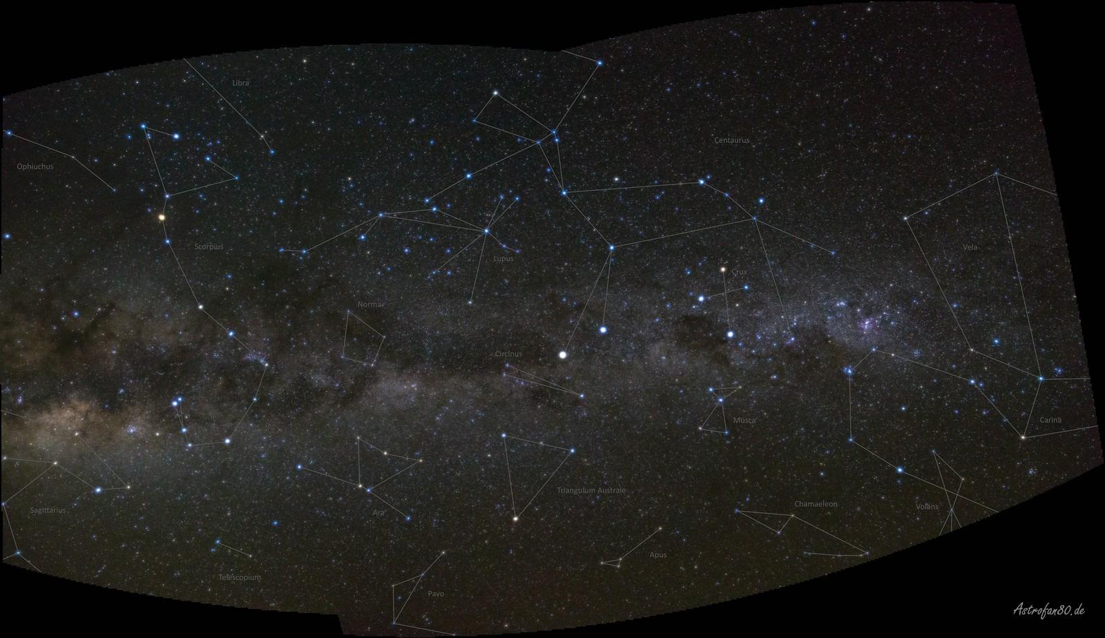 Milchstraßen Panorama