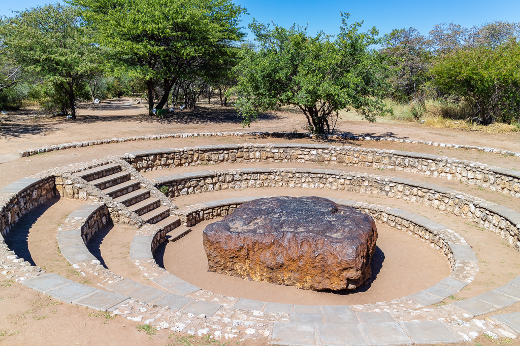 Hoba Meteorite 4