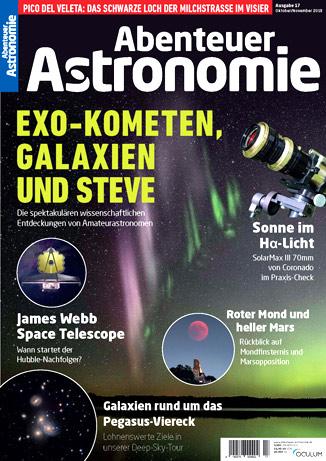Abenteuer Astronomie wird mit der 18. Ausgabe eingestellt