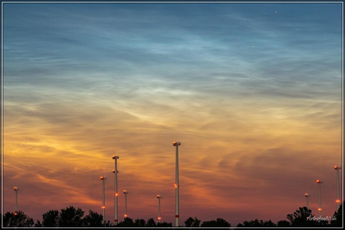 Die bisher beeindruckendste Saison Leuchtender Nachtwolken der zurückliegenden Jahre!