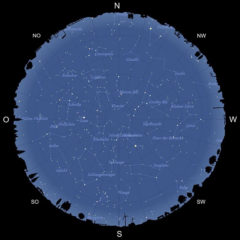 Der Sternhimmel im Juni 2020