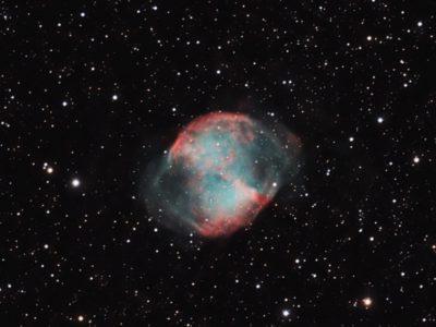 Objekte des Monats: Der Hantelnebel Messier 27