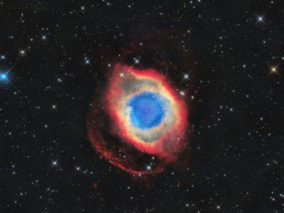 Objekte des Monats: Der Helixnebel NGC 7293