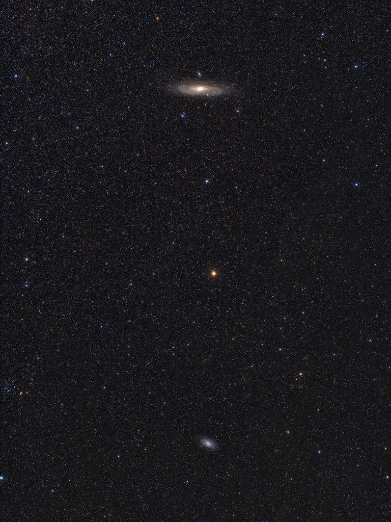 Messier 31 6 Messier 32