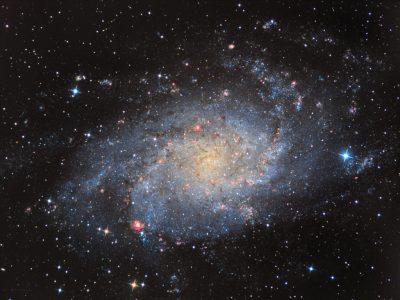 Objekte des Monats: Die Dreiecksgalaxie Messier 33