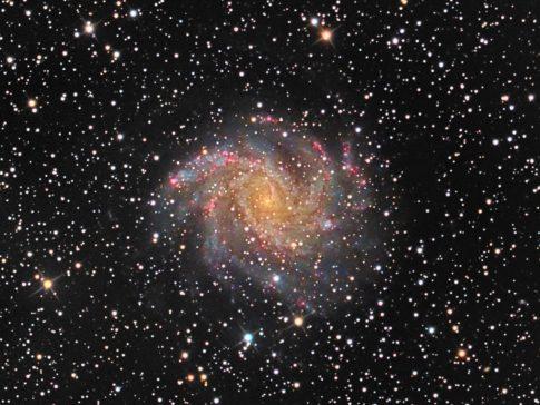 Objekte des Monats: Die Feuerwerksgalaxie NGC 6946