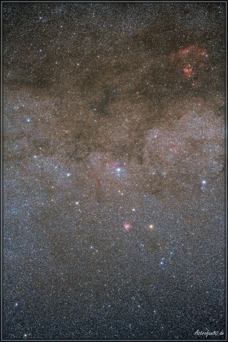 Milchstraße in der Kassiopeia
