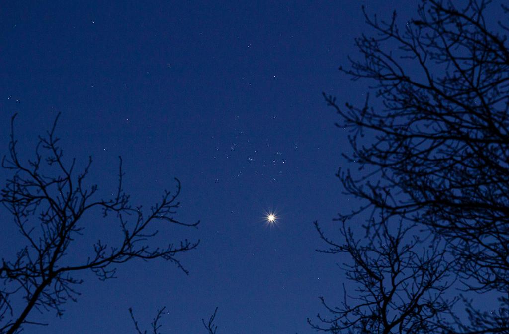 Venus & Plejaden