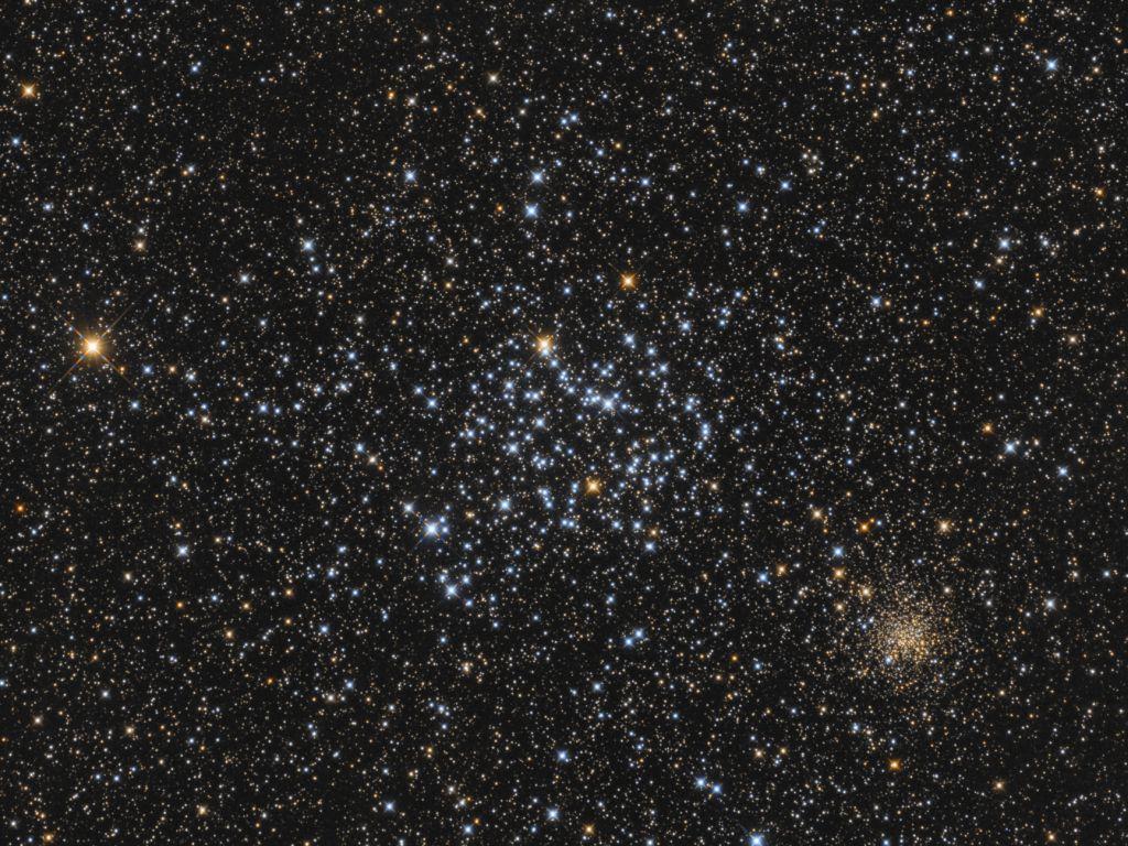 Messier 35 & NGC 2158
