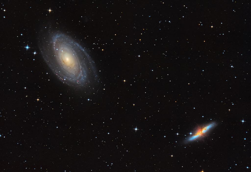 Messier 81 & Messier 82