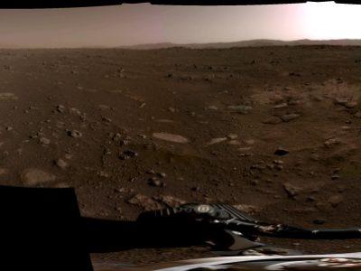 Perseverance Landung auf dem Mars