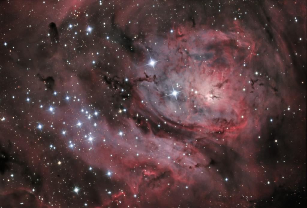 Zentralbereich Messier 8