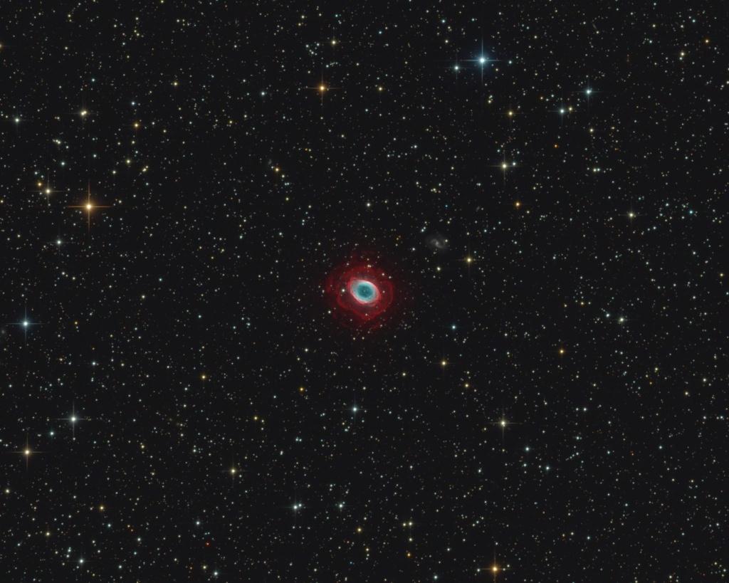 Messier 57 mit äußeren Halo