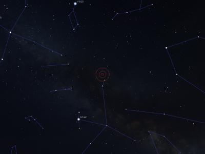 Neue Nova mit 6. Größe im Sternbild Herkules