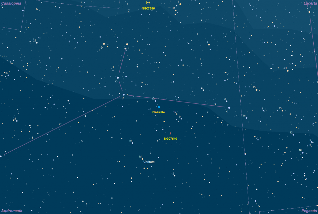 Aufsuchkarte NGC 7662
