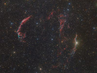 Objekte des Monats: Der Zirrusnebel NGC 6960 & NGC 6992/6995