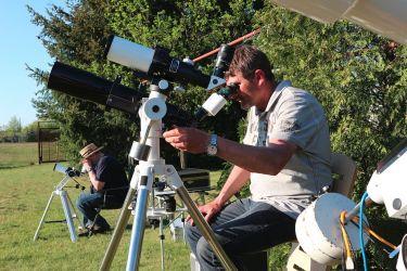 Beobachtung der Sonne