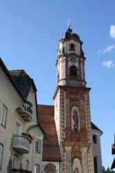 Die Kirche St. Peter & Paul in Mittenwald