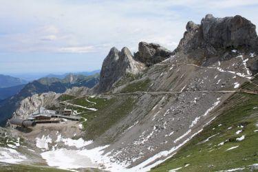 Westliche Karwendelspitze in Mittenwald - Bergstation