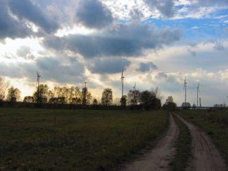 Windräder vom Standort Briesensee